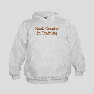 Rock Crawler In Training Kids Hoodie