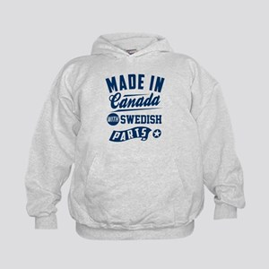 made in canada with swedish parts Sweatshirt