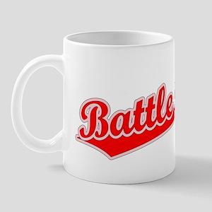 Retro Battle Creek (Red) Mug