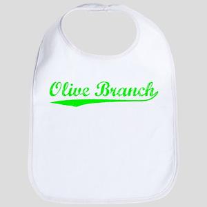 Vintage Olive Branch (Green) Bib