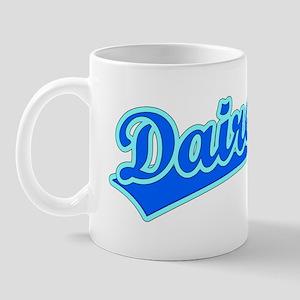 Retro Dairen (Blue) Mug