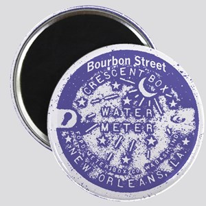 Bourbon St Water Meter Lid Magnet