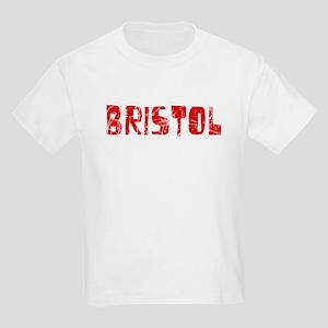 Bristol Faded (Red) Kids Light T-Shirt