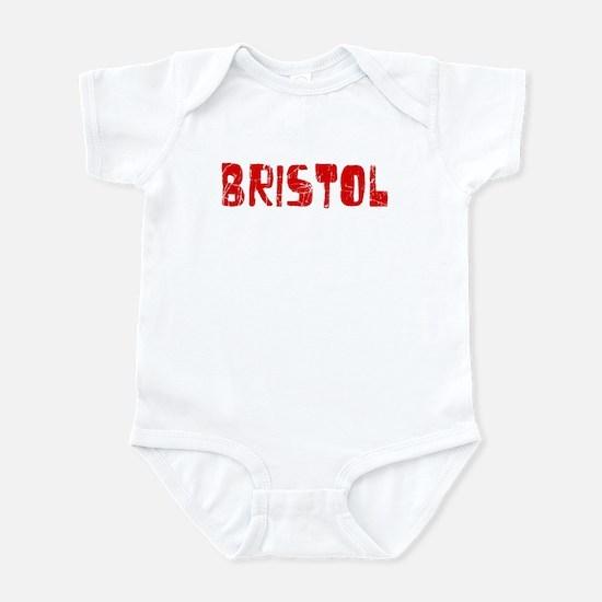 Bristol Faded (Red) Infant Bodysuit