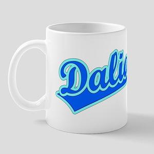Retro Dalian (Blue) Mug