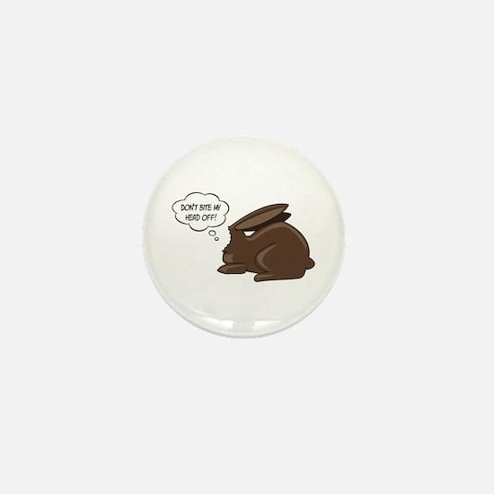 Funny Bunny Mini Button