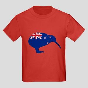 New Zealand Kiwi Kids Dark T-Shirt