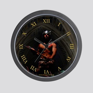 The Menace Fantasy Wall Clock