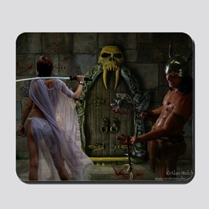 Doorway of Mystery Fantasy Mousepad