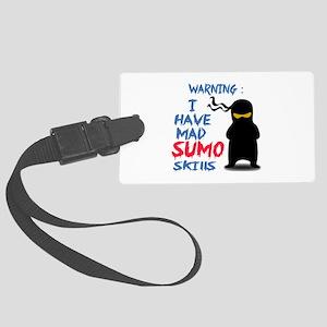 Warning ! I have Mad Sumo Skills Large Luggage Tag