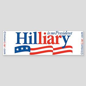 HIL-LIAR-Y Bumper Sticker