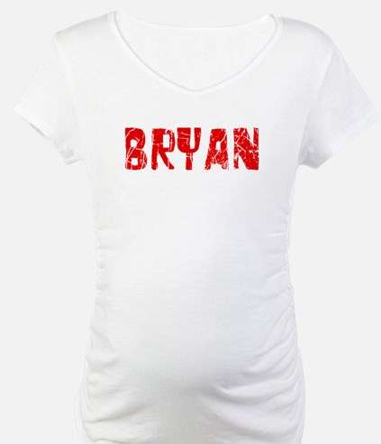 Bryan Faded (Red) Shirt