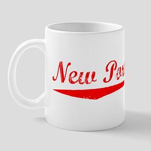 Vintage New Port R.. (Red) Mug