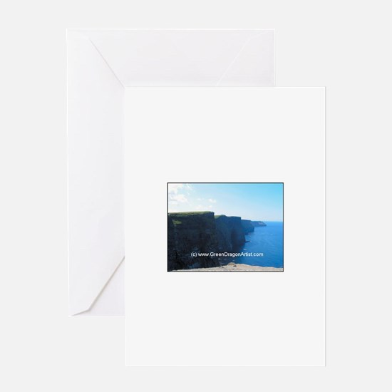 Funny Cliffs moher Greeting Card
