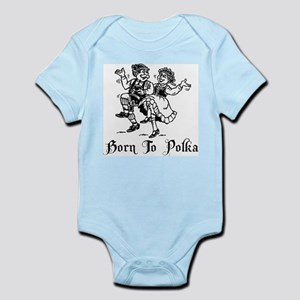 Born To Polka Infant Bodysuit
