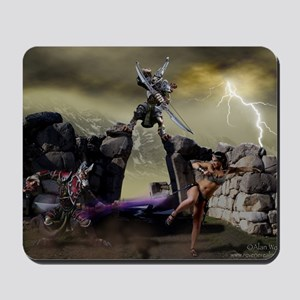 Dance of Death Fantasy Mousepad