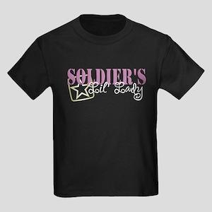 Soldier's Lil' Lady Kids Dark T-Shirt