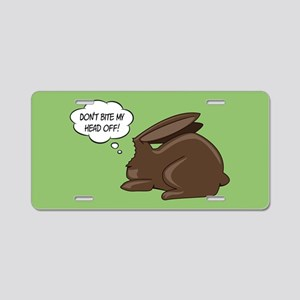 Funny Bunny Aluminum License Plate