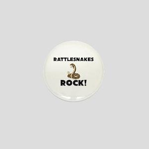 Rattlesnakes Rock! Mini Button