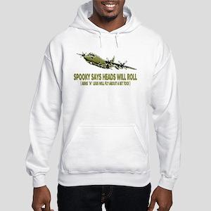 C-130 Spooky Gunship Hooded Sweatshirt