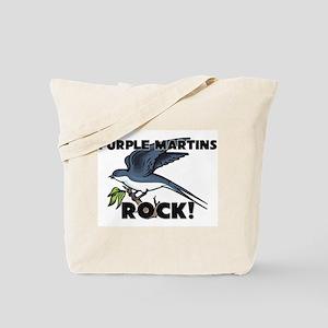 Purple Martins Rock! Tote Bag