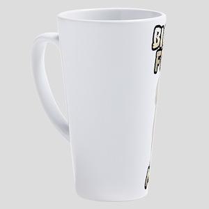 Bichon Frise Mom 17 oz Latte Mug