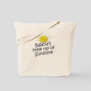 Babcia's Sunshine Tote Bag