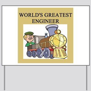 ENGINEER GIFTS T-SHIRTS Yard Sign