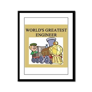 ENGINEER GIFTS T-SHIRTS Framed Panel Print