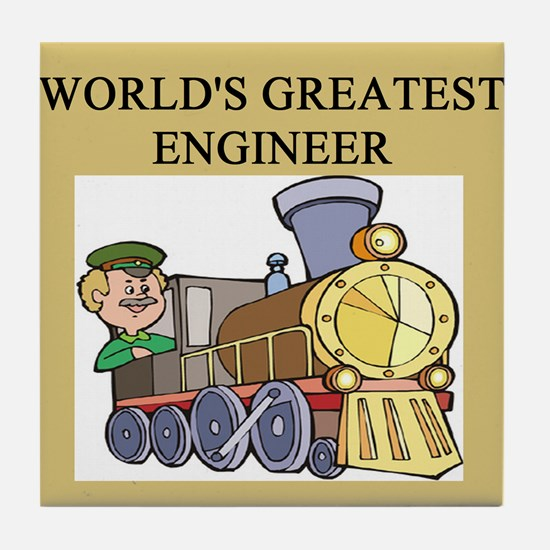 ENGINEER GIFTS T-SHIRTS Tile Coaster
