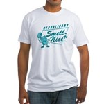 Republicans Smell Nice Fitted T-Shirt