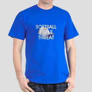 TOP Softball Triple Threat Dark T-Shirt