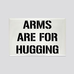 Arms Hugging Rectangle Magnet