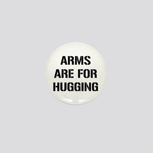 Arms Hugging Mini Button