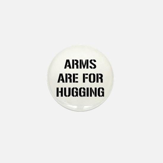 Arms Hugging Mini Button