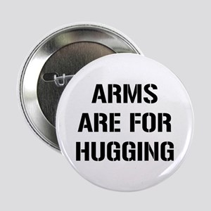 """Arms Hugging 2.25"""" Button"""