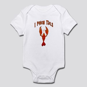I Pinch Tails Infant Bodysuit