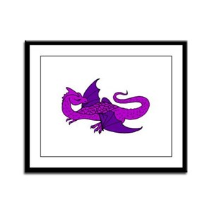 Watcher Dragon 5 Framed Panel Print