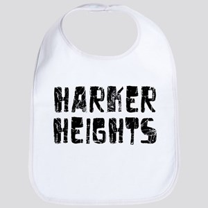 Harker Heights Faded (Black) Bib