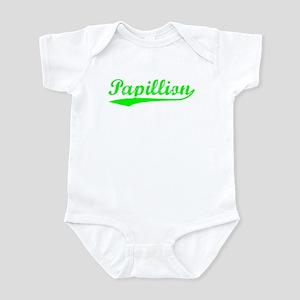 Vintage Papillion (Green) Infant Bodysuit
