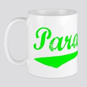 Vintage Paradise (Green) Mug