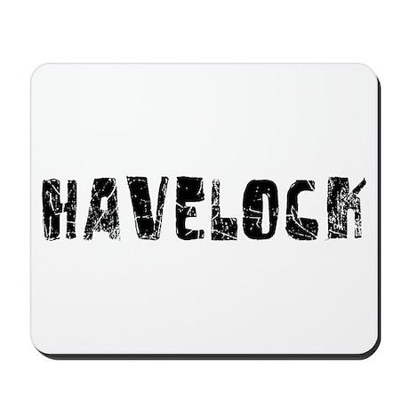 Havelock Faded (Black) Mousepad