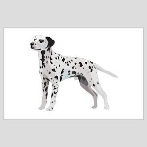 Proud Dalmatian Large Poster