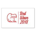 Red Wave 2018 Sticker