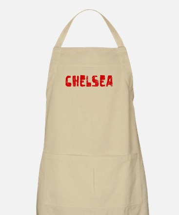 Chelsea Faded (Red) BBQ Apron