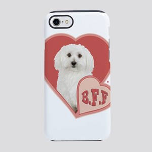 BFF Bichon Frise iPhone 8/7 Tough Case