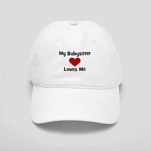 My Babysitter Loves Me! heart Cap