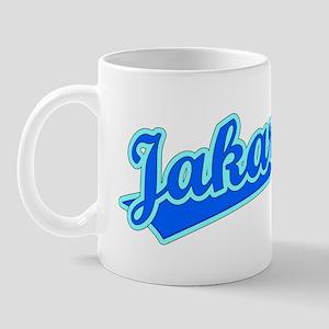 Retro Jakarta (Blue) Mug
