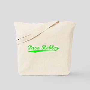 Vintage Paso Robles (Green) Tote Bag