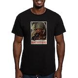 World war ii Fitted Dark T-Shirts